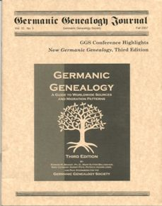 Germanic Genealogy Journals